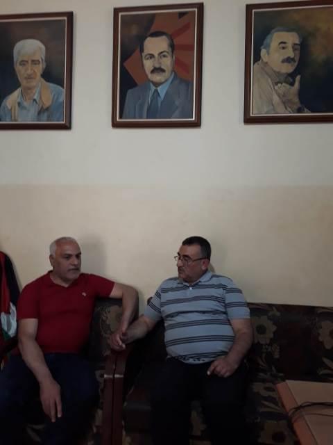 سكاف يلتقي لجنة الأسرى والمحررين في الجبهة الشعبية
