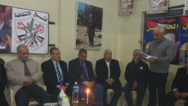 الجبهة الشعبية لتحرير فلسطين تهنئ حركة فتح الانتفاضة في ذكرى انطلاقتها الواحدة والخمسين .