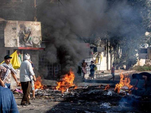الإضراب مستمر في مخيم عين الحلوة لليوم الثاني على التوالي