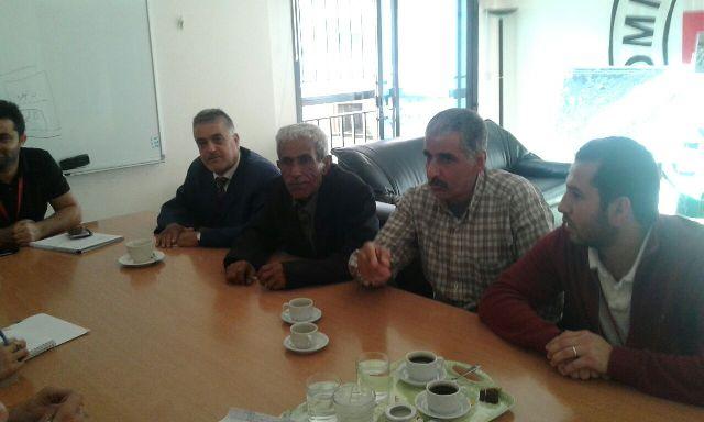 اللجان الشعبية تلتقي الصليب الأحمر الدولي في طرابلس بحضور لجنة المساجد