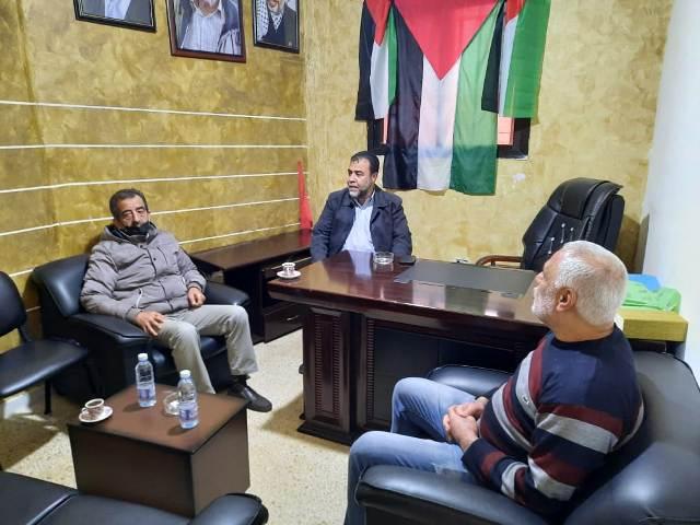 الجبهة الشعبية لتحرير فلسطين تلتقي الاتحاد الديمقراطي الفلسطيني (فدا)