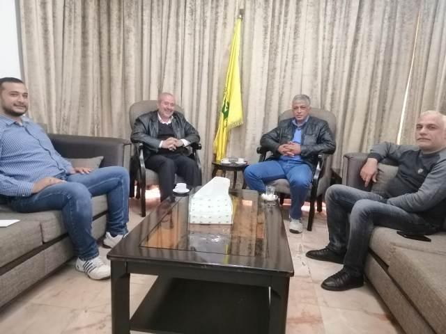اللجنة الاجتماعية الطبية للجبهة الشعبية في لبنان تلتقي حزب الله