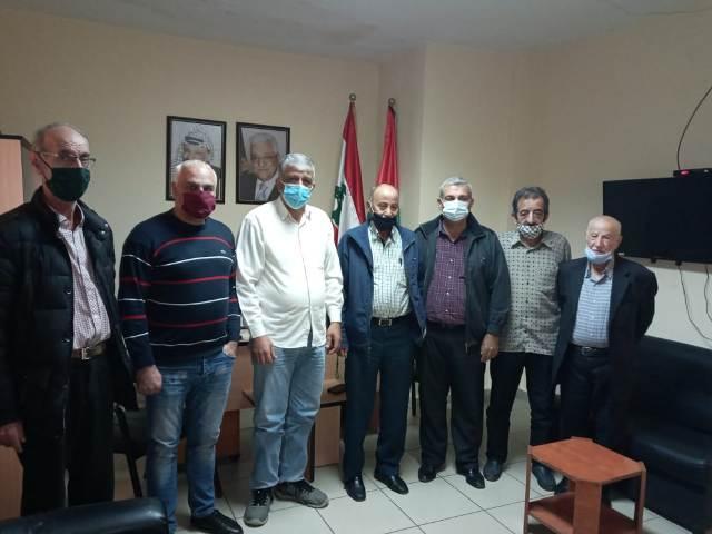 لجنة العمل الاجتماعي للجبهة الشعبية لتحرير فلسطين في لبنان تلتقي لجنة المتابعة للجان الشعبية الفلسطينية في لبنان