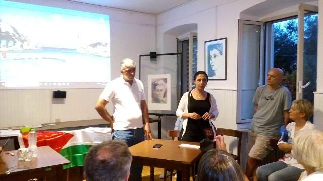 ندوة في مركز الحزب الشيوعي الإيطالي بمدينة تريستي حول أوضاع الفلسطينيين في لبنان