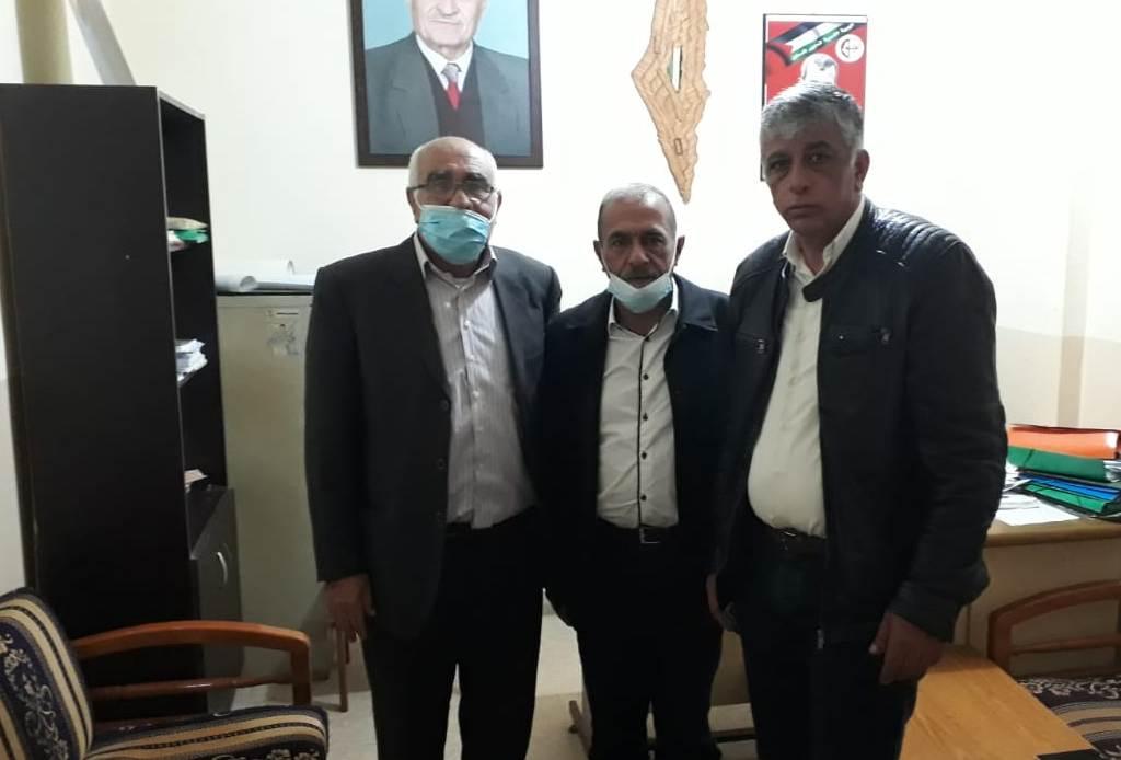 الجبهة الشعبية لتحرير فلسطين تلتقي أمين عام الحزب الديمقراطي الشعبي