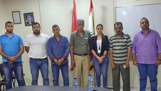 الديمقراطي اللبناني يلتقي وفدًا من الجبهة الشعبية لتحرير فلسطين في خلدة