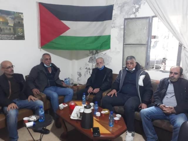الجبهة الشعبية لتحرير فلسطين تزور حركة الانتفاضة الفلسطينية