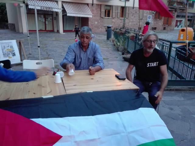 لقاء تضامني في مدينة ميستري الإيطالية مع الرفاق الإيطاليين