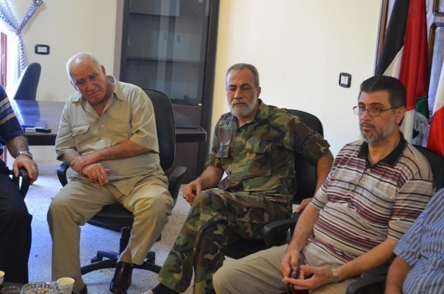 اجتماع في مخيم عين الحلوة للجنة الأمنية العليا المشرفة على أمن المخيم
