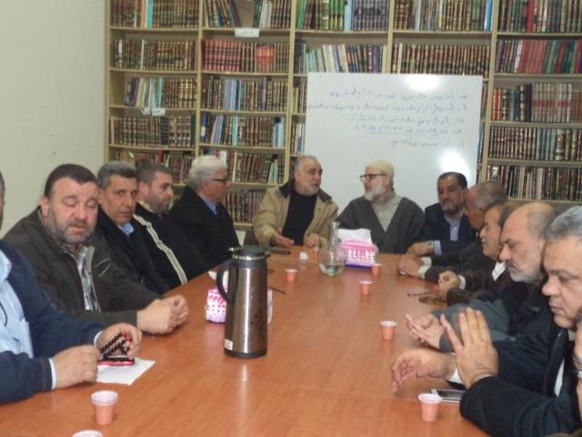 القيادة السياسية الفلسطينية في منطقة صيدا عقدت اجتماعًا طارئًا