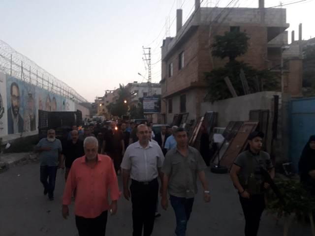 مسيرة حاشدة في مخيم عين الحلوة بمناسبة حلول عيد الفطر السعيد