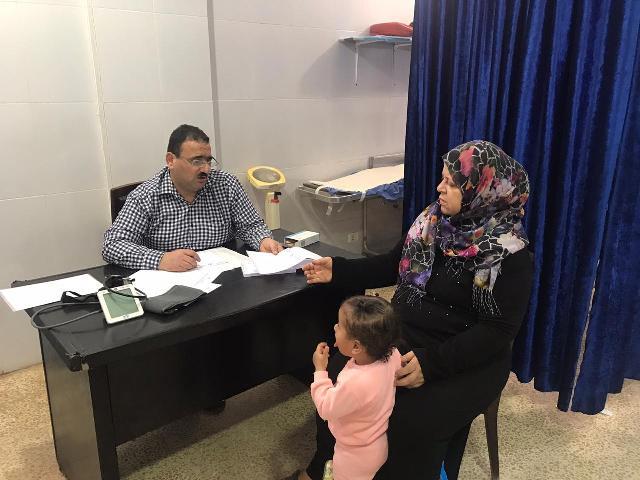 يوم صحي تخصصي مجاني لأبناء الشعب الفلسطيني في الشمال