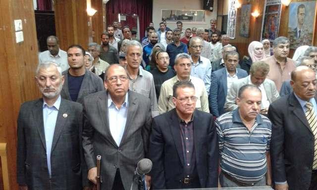 ندوة وافتتاح معرض تشكيلي في دمشق في ذكرى يوم الأسير الفلسطيني