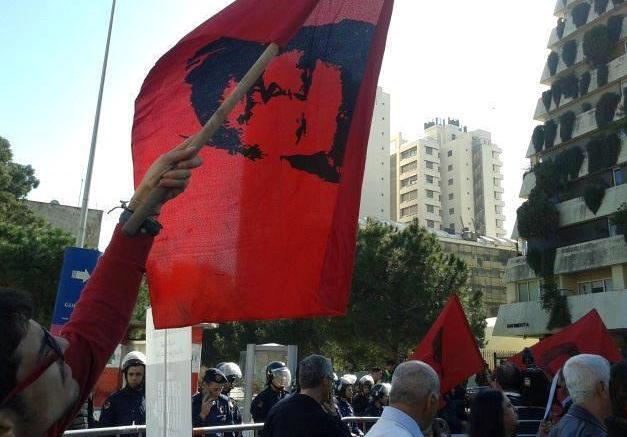 اعتصام من أجل الأسير جورج عبد الله
