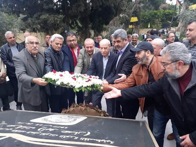 الشعبية في لبنان تحيي الذكرى الـ47 على استشهاد عضو مكتبها السياسي جيفارا غزة