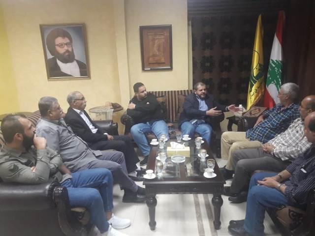 الشعبية تلتقي بقيادة حزب الله في صيدا
