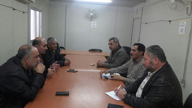 لجنة ملف البارد واللجنة الشعبية تجتمعان مع الأنروا بخصوص المشكلات  في n17