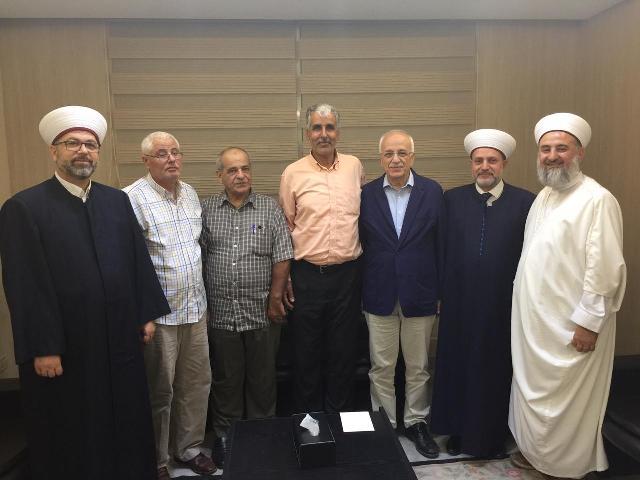الشعبية تلتقي د. طه ناجي وجمعية المشاريع في الشمال