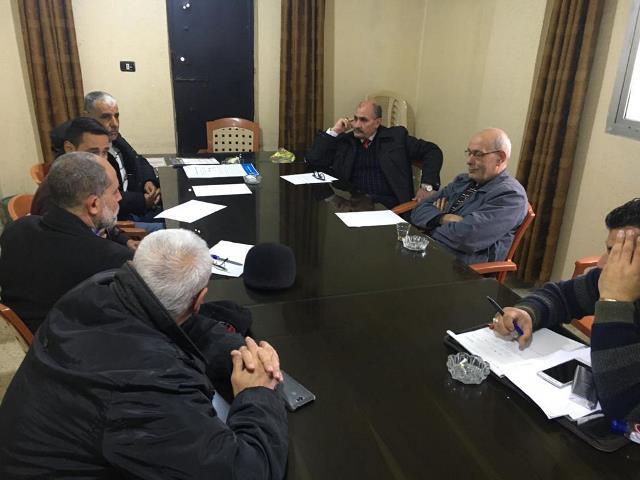 لقاء تنسيقي للجان الشعبية ولجنة ملف نهرالبارد ومنظمةUNDP.