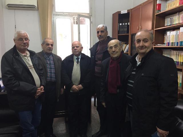 الشعبية في الشمال  تزور دار الندوة الشمالية في طرابلس