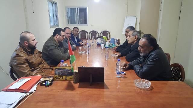 حركة حماس تزور الجبهة الشعبية في الشمال: القوة الأمنية في مخيم البداوي مطلب شعبي وفصائلي