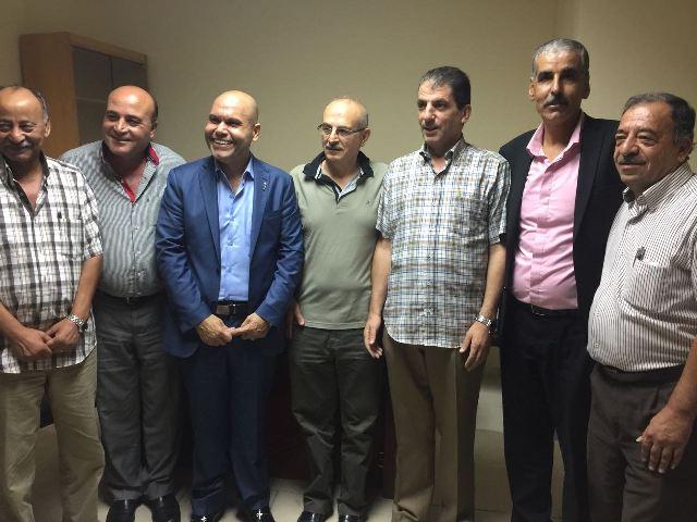 تكريم أمناء سرالمناطق للجان الشعبية في لبنان