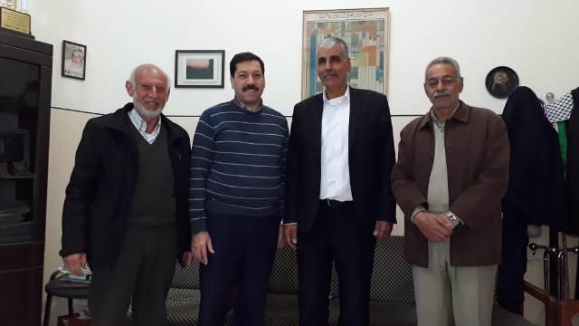 الجبهة الشعبية لتحرير فلسطين تجول على قوى وشخصيات وطنية في طرابلس