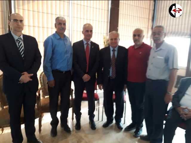 الجبهة الشعبية لتحرير فلسطين تهنئ نقيب الأطباء في الشمال