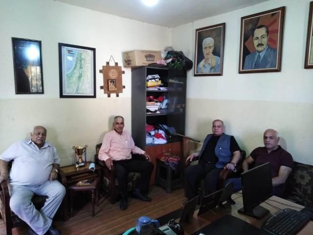 الجبهة الشعبية لتحرير فلسطين تلتقي مسؤول الأمن الوطني في الشمال