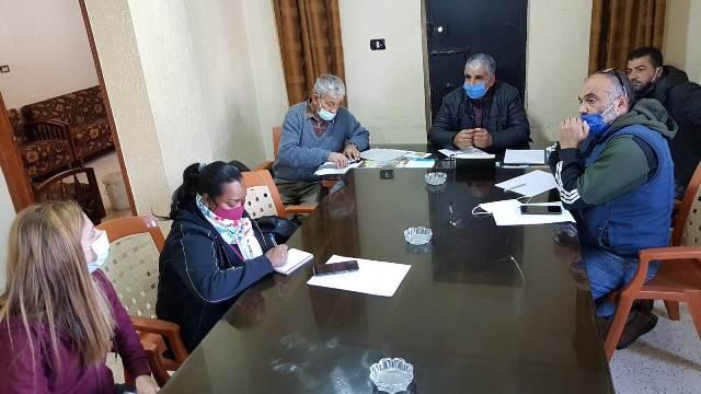 الصليب الأحمر الدولي يلتقي اللجنة الشعبية لمخيم نهرالبارد