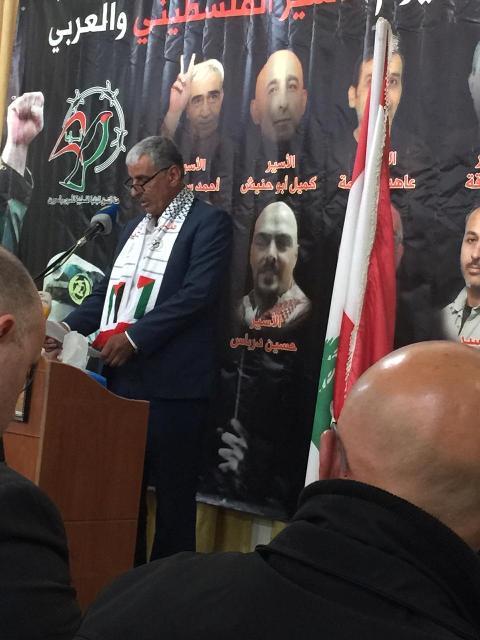 غنومي: حقنا في فلسطين نستحقه بالمقاومة وبالوحدة
