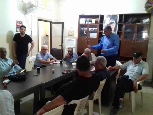 غنومي: لمتابعة وقف الإجراءات الظالمة بحق العمال الفلسطينيين في لبنان