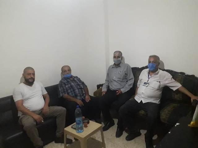 الجبهة الشعبية تزور فتح - الانتفاضة في مخيم البداوي