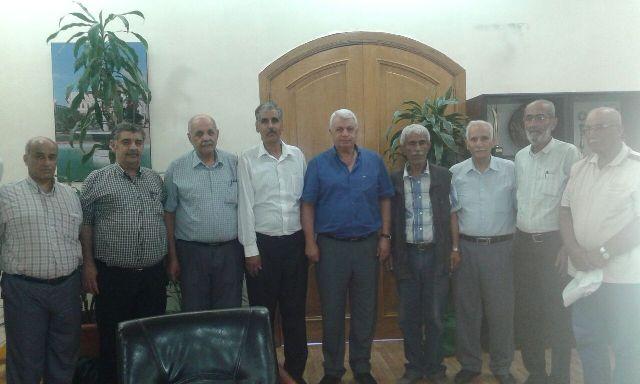 وفد من اللجان الشعبية زار بلدية طرابلس