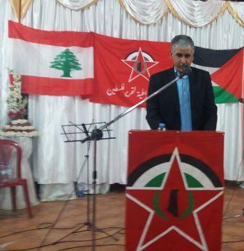 غنومي : حقوق أبناء مخيم نهرالبارد ليس منة من أحد وسنبقى موحدين حتى العودة الى فلسطين