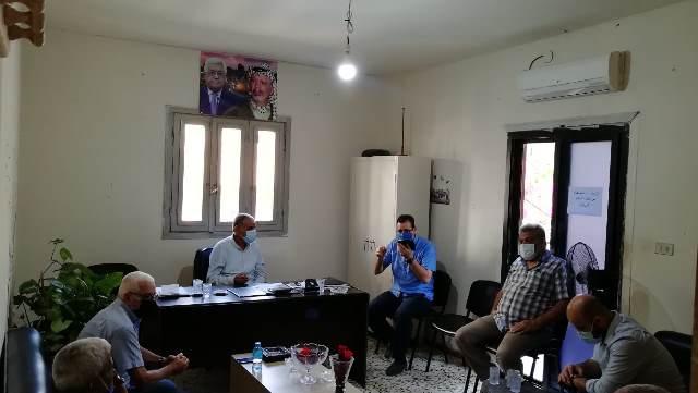اجتماع للفصائل واللجان الشعبية والأنروا لمتابعة مشاريع وخدمات مخيم البداوي
