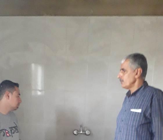 غنومي تفقد أعمال الترميم في الأحياء المحيطة بمخيم نهر البارد