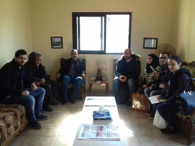 اللجان الشعبية تلتقي فريق العمل الاجتماعي في منظمة ال UNDP .