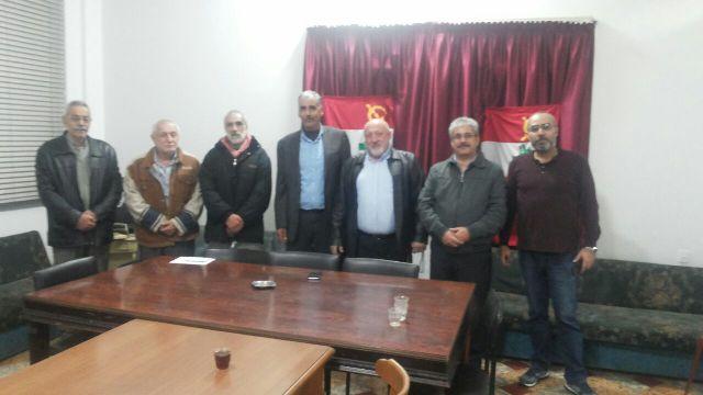 الجبهة الشعبية تلتقي الحزب الشيوعي اللبناني في طرابلس