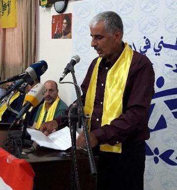 غنومي: اسمحوا لنا بالذهاب إلى الحدود الفلسطينية ومن هناك إما نعود إلى فلسطين أو أن نرتقي شهداء
