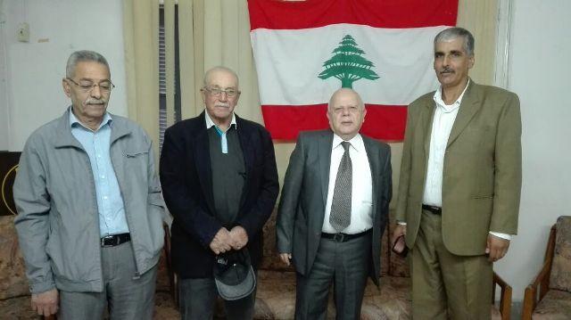 الجبهة الشعبية لتحرير فلسطين تلتقي المنتدى القومي العربي في طرابلس