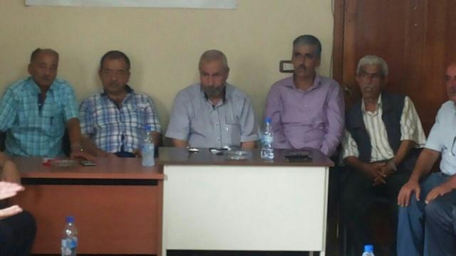 اللجان الشعبية لمنظمة التحرير الفلسطينية في الشمال تستضيف رؤساء اللجان الشعبية لمخيمات الداخل