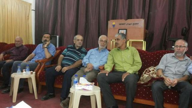 الجبهة الشعبية تعزي عضو المجلس السياسي لحزب الله الحاج محمد صالح بوفاة والدته