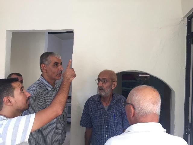 اللجان الشعبية في الشمال تتفقد مشروع الترميم في منطقتي طرابلس والميناء