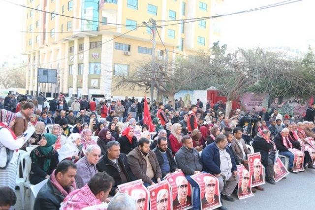 في ذكرى اختطاف السلطة القائد سعدات/ الشعبية تنظم مهرجاناً وطنياً بغزة