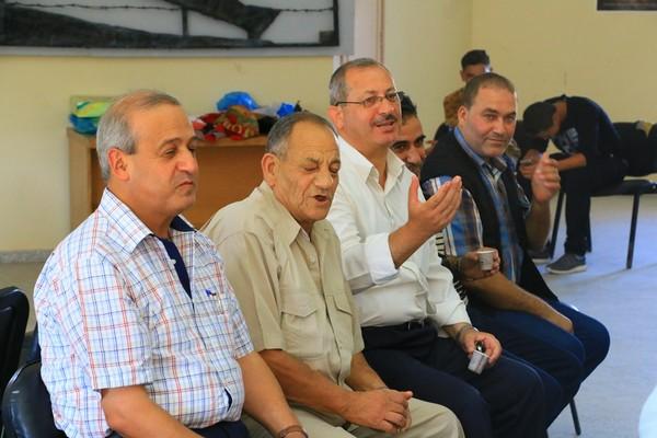 الجبهة الشعبية في القطاع تقيم بيت عزاء لرفيقها المناضل الكبير تيسير قبعة