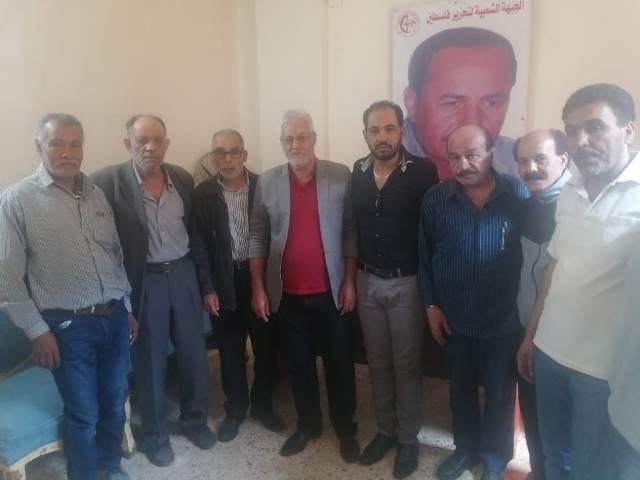 الشعبية في صيدا تستقبل وفدًا من لجنة حي قاطع العودة