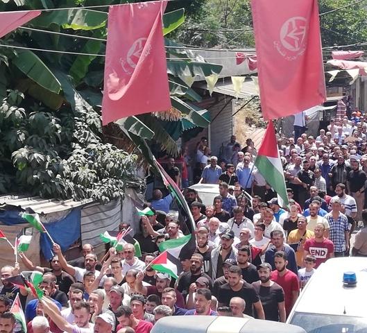 الفلسطينيون يستمرون في احتجاجاتهم للجمعة السابعة على التوالي