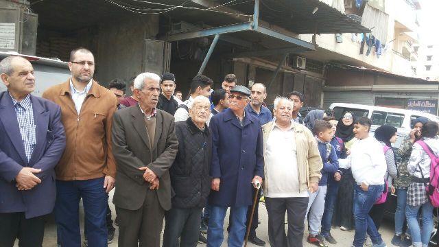 اعتصامات جماهيرية حاشدة في مخيمات لبنان رفضًا لمؤامرة إلغاء دور الأنروا