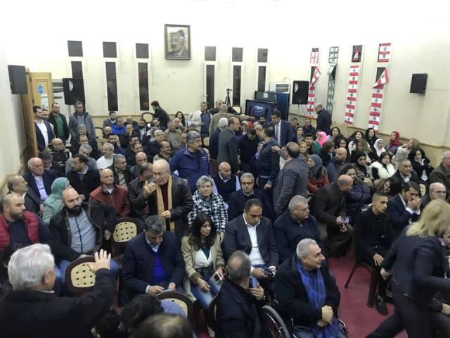 النادي الثقافي الاجتماعي في برجا يقيم أمسية شعرية تحت عنوان: محمود درويش على جناح الحرف واللحن